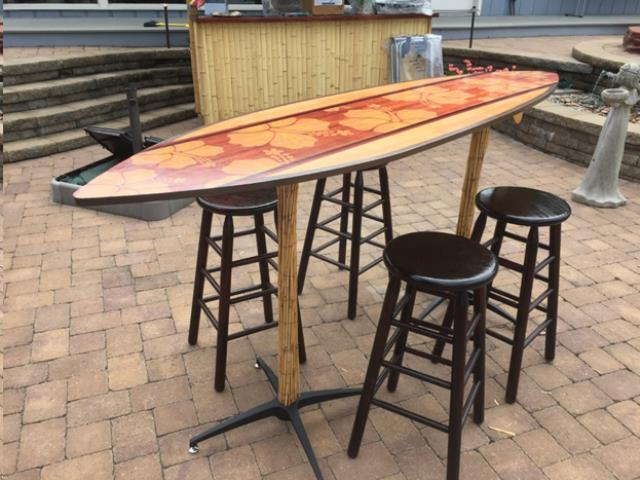 Where to find SURFBOARD COCKTAIL TABLE in Cornelius