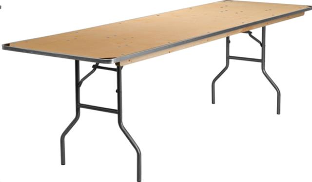 Where to find 8FT BANQUET TABLE in Cornelius
