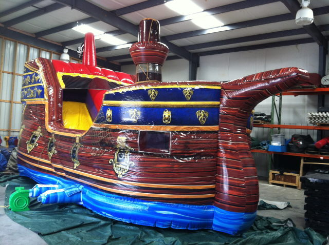Where to find INFLATABLE PIRATE SHIP in Cornelius