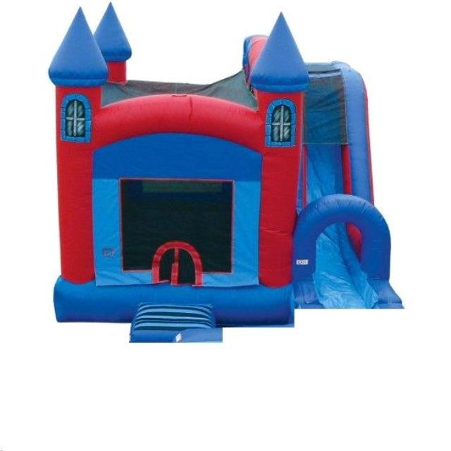 Where to find INFLATABLE JUMP N SPLASH CASTLE W  SLIDE in Cornelius