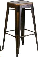 Where to find BAR STOOL DISTRESSED COPPER METAL 30 in Cornelius