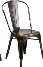Where to find DISTRESSED COPPER METAL CHAIR STACKABLE in Cornelius