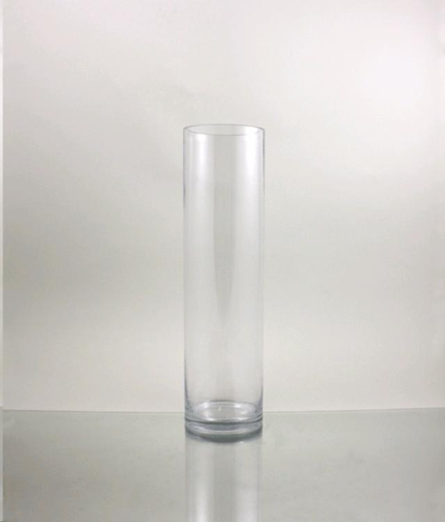 Cylinder Vase 5 Inch X18 Inch Clear Rentals Cornelius Nc Where To