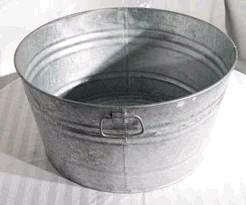 Where to find GALVANIZED TUB in Cornelius