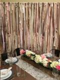 Where to rent SHABBY CHIC FABRIC BACKDROP 8 Tx8 W in Cornelius NC
