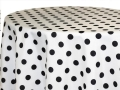 Rental store for POLKA DOT BLACK LINEN in Cornelius NC