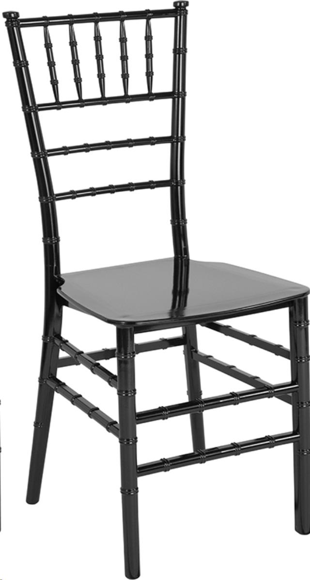 Where to find CHAIR CHIAVARI BLACK RESIN in Cornelius