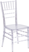 Rental store for CHAIR CHIAVARI CRYSTAL ICE in Cornelius NC