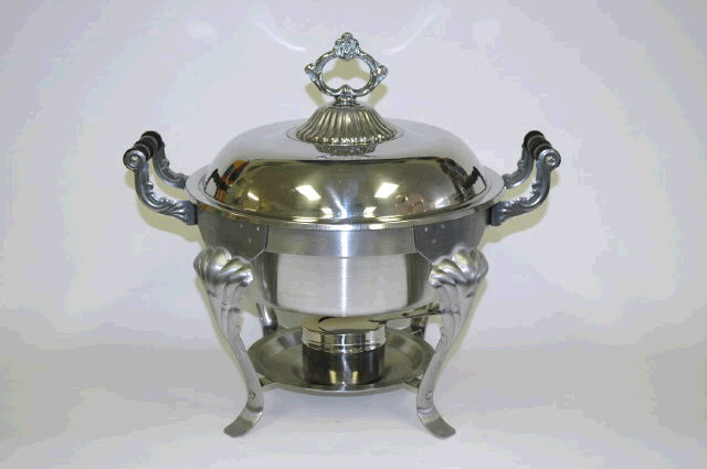 Where to find ROUND CHAFER, STAINLESS STEEL 3Q in Cornelius
