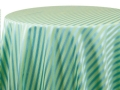 Rental store for CASABLANCA STRIPE BLUE GREEN  REVERSE in Cornelius NC