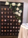 Rental store for DONUT WALL 4 x6  WOOD in Cornelius NC