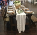 Rental store for FARM BANQUET TABLE 8 X45 in Cornelius NC