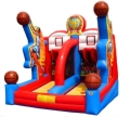 Rental store for INFLATABLE SHOOTING STAR BASKETBALL in Cornelius NC
