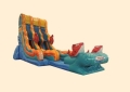 Rental store for INFLATABLE BIG KAHUNA DOUBLE LANE SLIDE in Cornelius NC