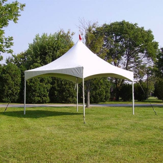 Where to find 15X15 WHITE HIGH PEAK TENT in Cornelius