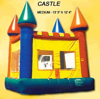 Where to find INFLATABLE CASTLE 13 Lx12 W in Cornelius