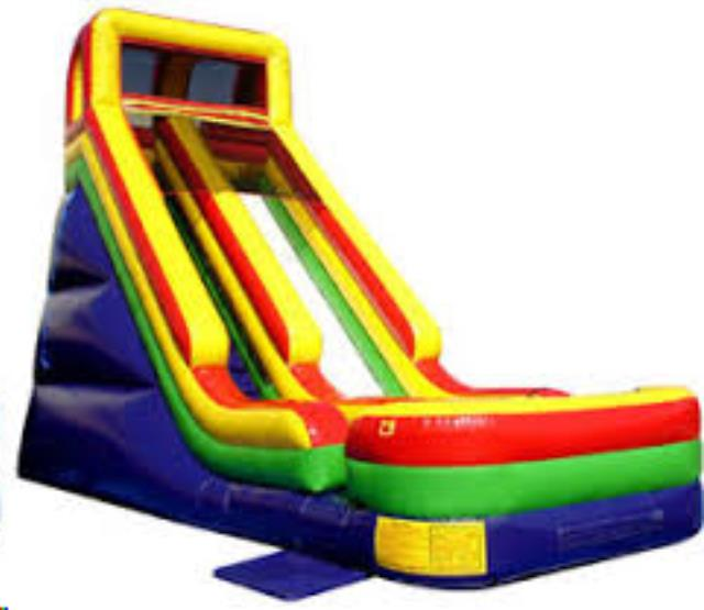 Where to find INFLATABLE WACKY SLIDE II 18 in Cornelius