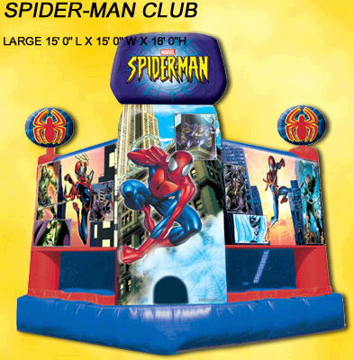 Where to find INFLATABLE SPIDERMAN 15X16 in Cornelius
