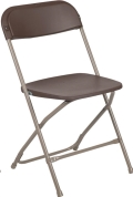 Where to rent FOLDING CHAIR BROWN in Cornelius NC