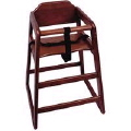 Rental store for HIGH CHAIR MAHOGANY in Cornelius NC