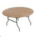 Where to rent 5FT ROUND TABLE in Cornelius NC