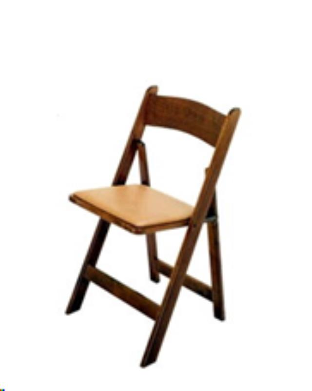 Where to find CHAIR FRUITWOOD W  TAN PAD in Cornelius