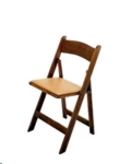 Rental store for CHAIR FRUITWOOD W  TAN PAD in Cornelius NC