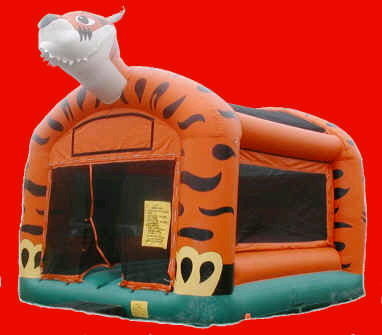 Where to find INFLATABLE FRIENDLY TIGER BOUNCE 15X17 in Cornelius