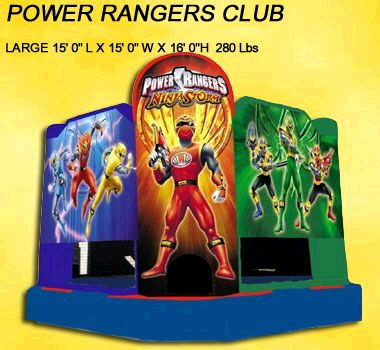 Where to find INFLATABLE POWER RANGER BOUNCE 15X16 in Cornelius