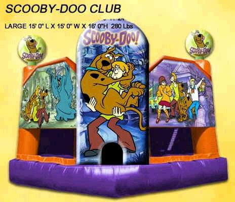 Where to find INFLATABLE SCOOBY DOO BOUNCE 15X15 in Cornelius