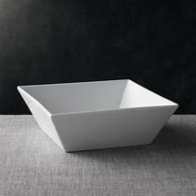 Where to find BOWL WHITE SQUARE 9x9x4 in Cornelius
