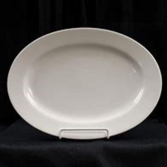 Where to find PLATTER OVAL WHITE 18 in Cornelius