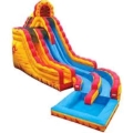 Rental store for INFLATABLE FIRE N ICE W POOL in Cornelius NC