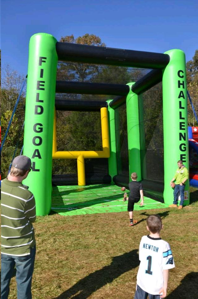 Where to find INFLATABLE FOOTBALL FIELD GOAL in Cornelius